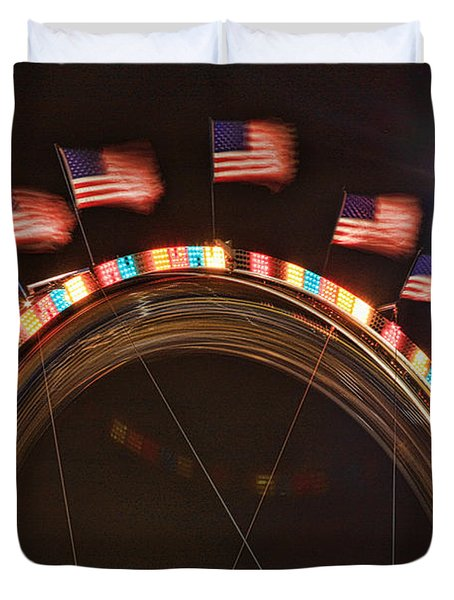 Five Flags Duvet Cover by James BO  Insogna