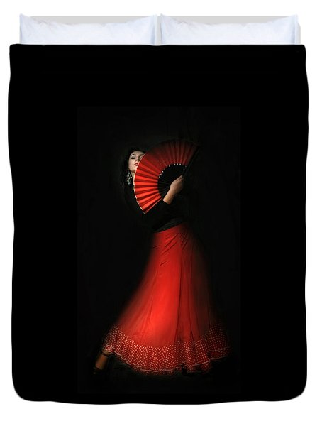 Flamenco Duvet Cover by Viktor Korostynski