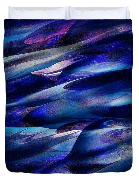 Flight Duvet Cover by Rachel Christine Nowicki