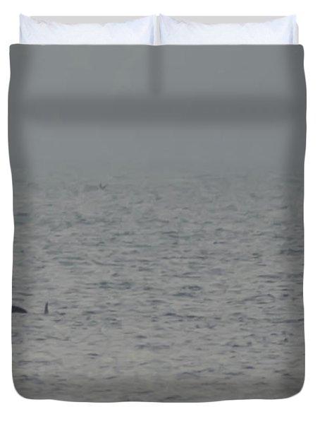 Flipper Duvet Cover by Bill Cannon
