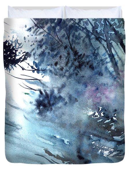 Flooding Duvet Cover by Anil Nene