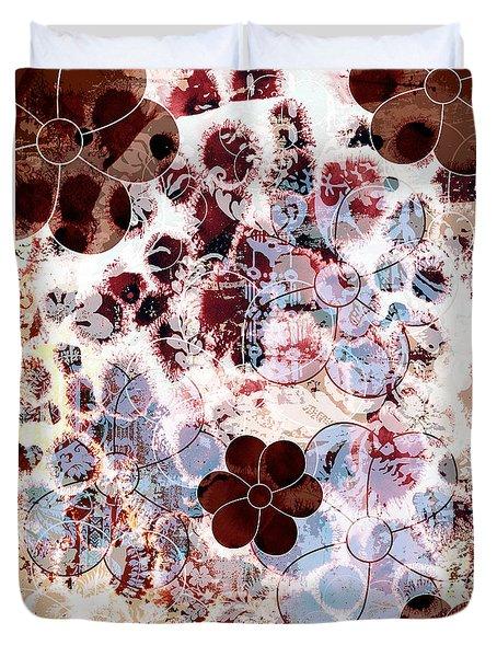 Floral Essence Duvet Cover by Frank Tschakert