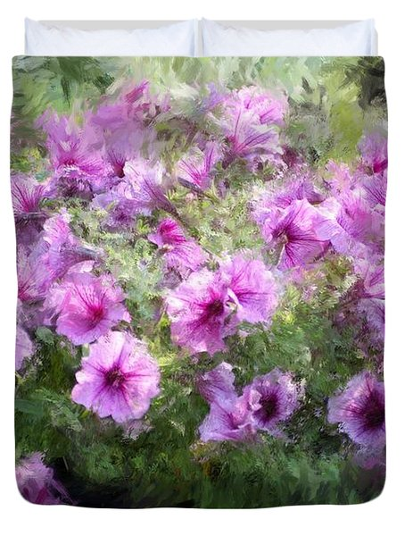Floral Study 053010 Duvet Cover by David Lane