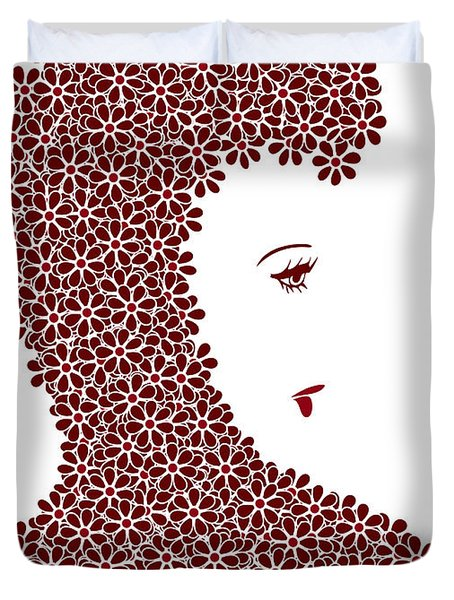 Flower Fashion Duvet Cover by Frank Tschakert