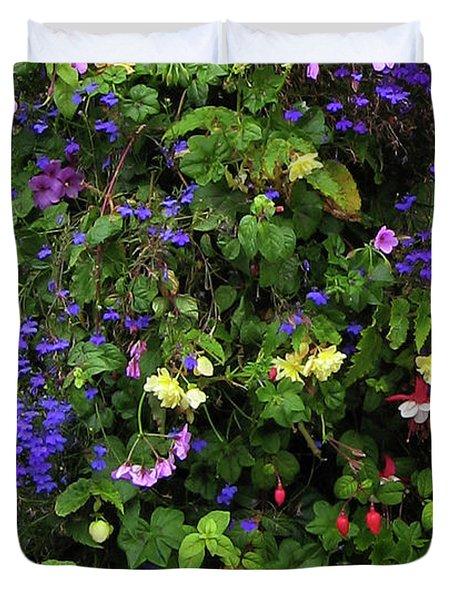 Flower Power Duvet Cover by Kurt Van Wagner