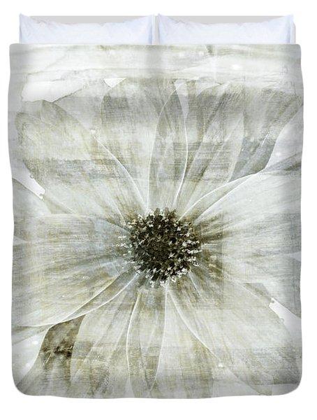 Flower Reflection Duvet Cover by Frank Tschakert