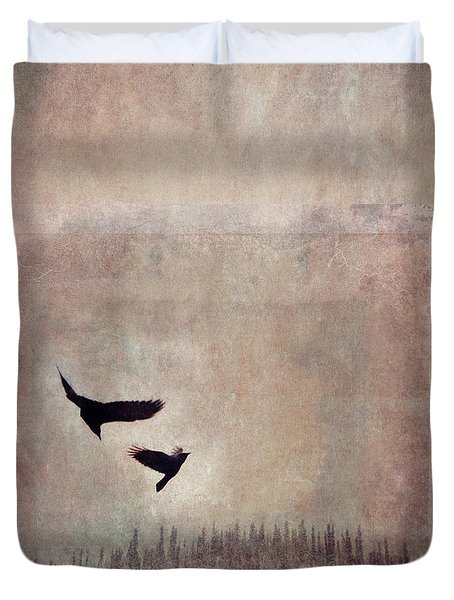 Fly Dance Duvet Cover by Priska Wettstein