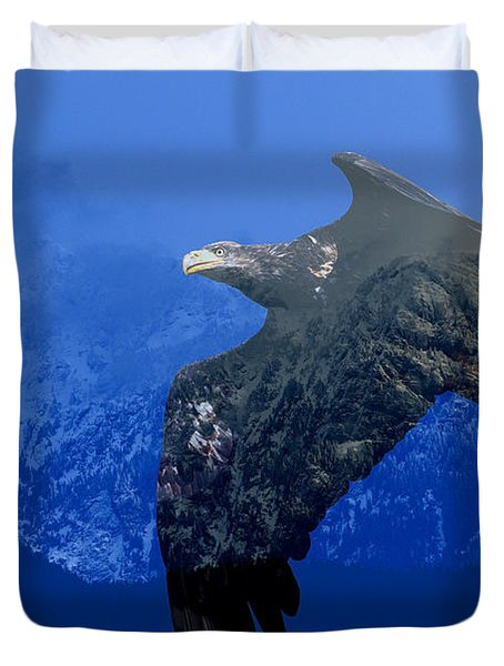 Fly Wild Fly Free Duvet Cover by Sharon Talson