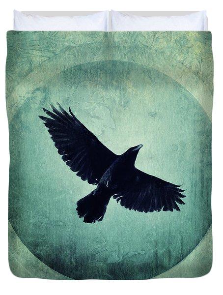 Flying High Duvet Cover by Priska Wettstein