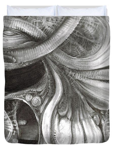 Fomorii Pod Duvet Cover by Otto Rapp