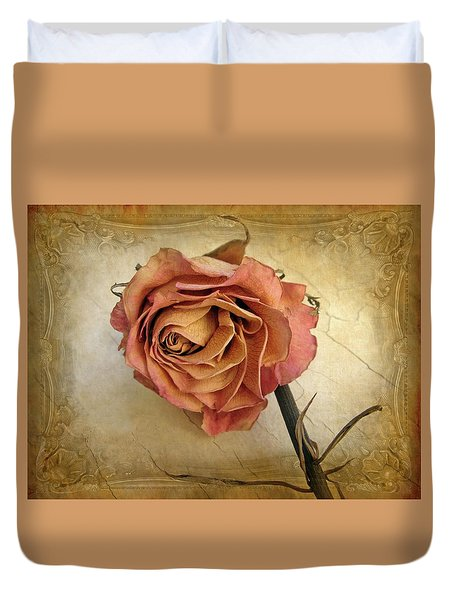 For You Duvet Cover by Jessica Jenney