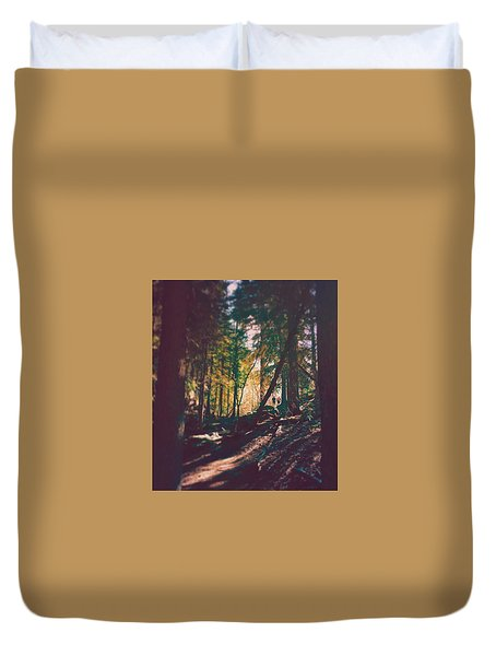 Forest Duvet Cover by Brennan Gallegos