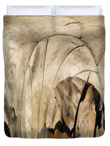 Forest Floor Duvet Cover by Tim Allen