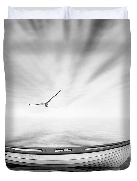 Forgotten Duvet Cover by Photodream Art