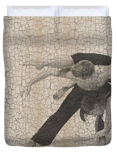 Forgotten Romance  Duvet Cover by Naxart Studio