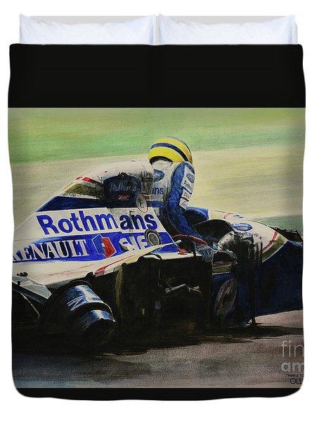 Formula - Alone Duvet Cover by Oleg Konin