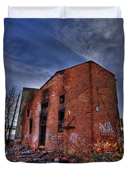 Forsaken Luxury Duvet Cover by Evelina Kremsdorf