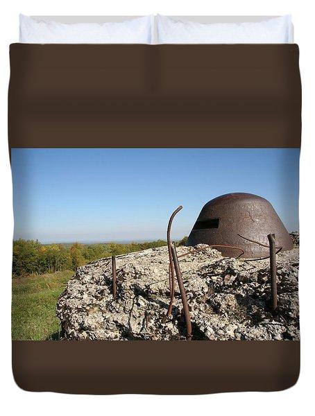 Duvet Cover featuring the photograph Fort De Douaumont - Verdun by Travel Pics