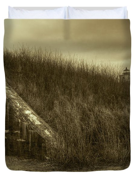 Fort Taber No. 1 Duvet Cover by David Gordon
