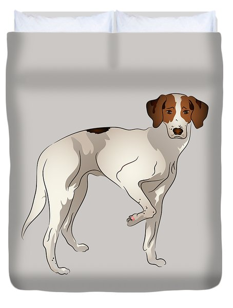 Foxhound Duvet Cover by MM Anderson