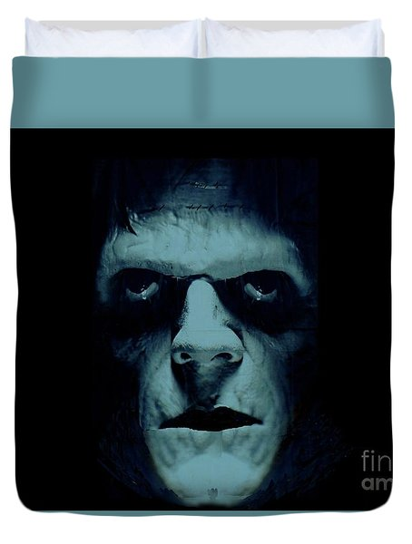 Frankenstein Duvet Cover by Janette Boyd