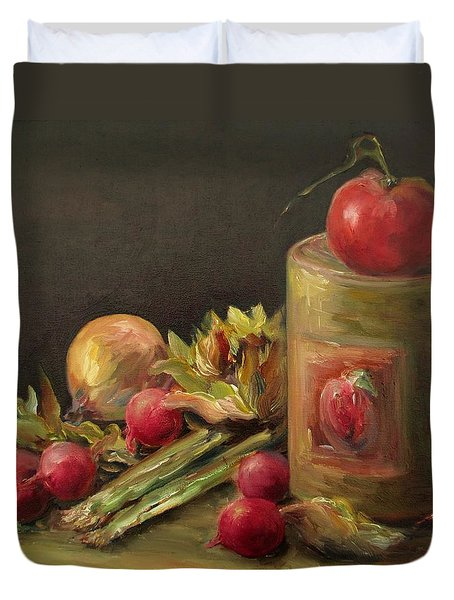 Freshly Picked Duvet Cover by Mary Wolf