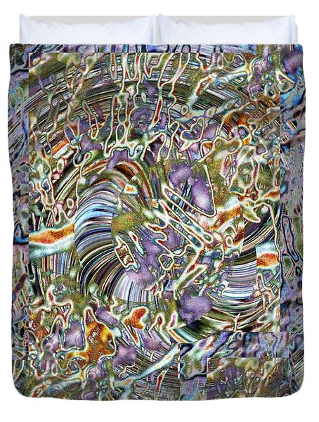 Fused Duvet Cover by Tim Allen