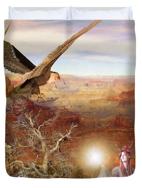 Galdorcraeft Duvet Cover by John Edwards