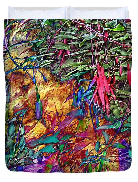 Garden Of Forgiveness Duvet Cover by Kurt Van Wagner