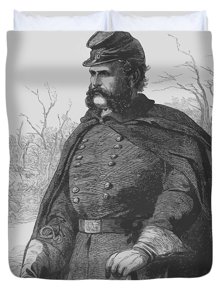 General Ambrose Burnside Duvet Cover by War Is Hell Store