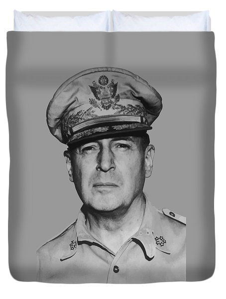 General Douglas MacArthur Duvet Cover by War Is Hell Store