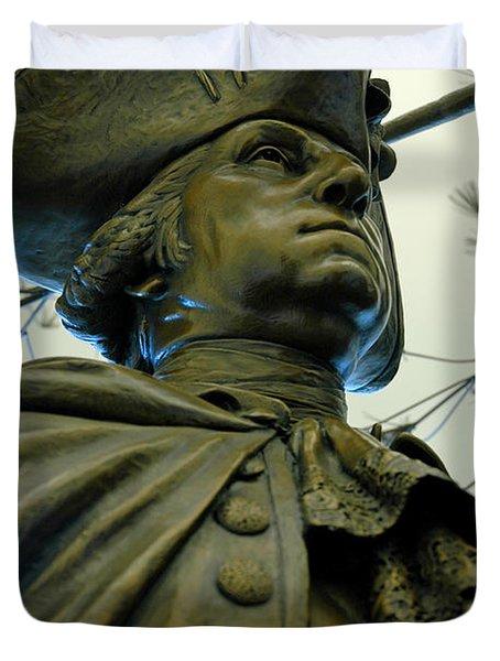 General George Washington Duvet Cover by LeeAnn McLaneGoetz McLaneGoetzStudioLLCcom