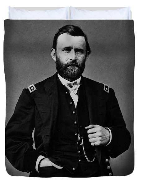 General Grant During The Civil War Duvet Cover by War Is Hell Store