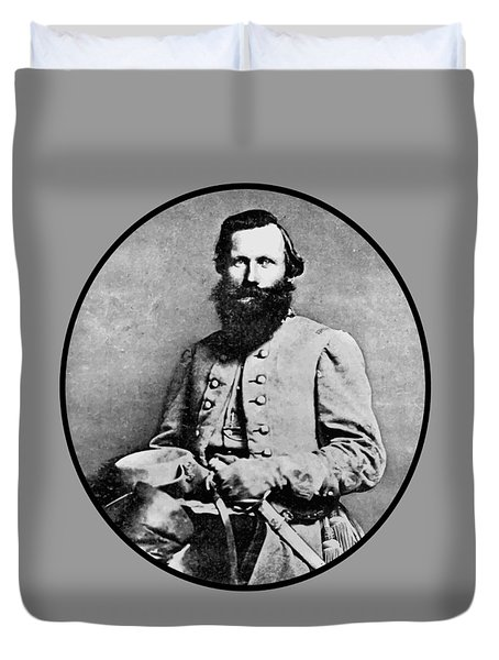 General Jeb Stuart Duvet Cover by War Is Hell Store