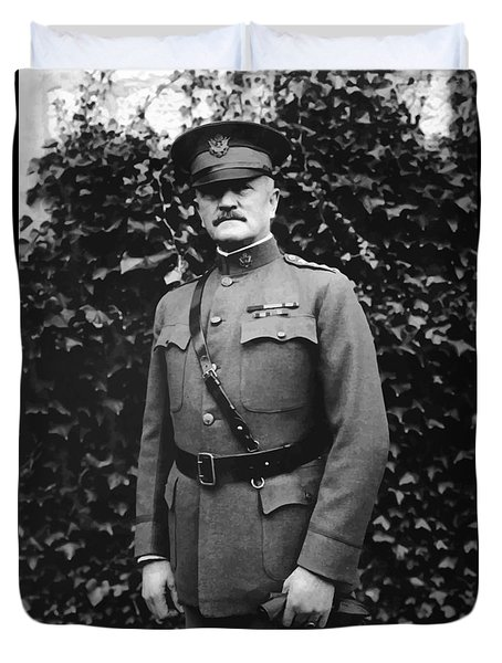 General John J. Pershing Duvet Cover by War Is Hell Store