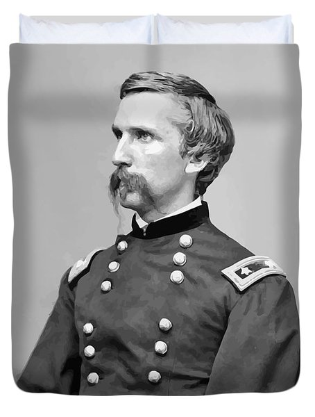 General Joshua Lawrence Chamberlain Duvet Cover by War Is Hell Store