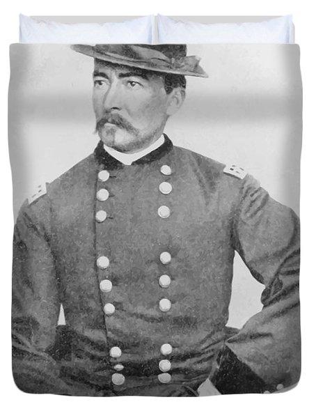 General Sheridan Civil War Portrait Duvet Cover by War Is Hell Store