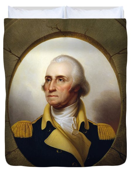 General Washington Duvet Cover by War Is Hell Store