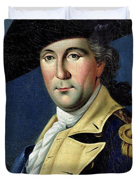 George Washington Duvet Cover by Samuel King