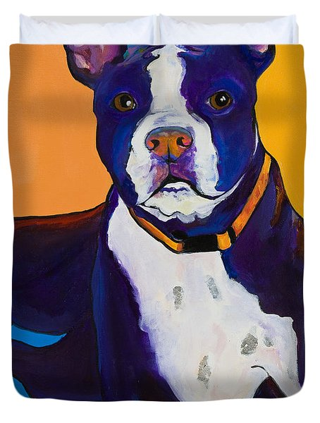 Georgie Duvet Cover by Pat Saunders-White