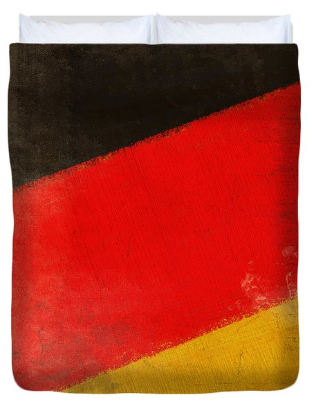German flag Duvet Cover by Setsiri Silapasuwanchai