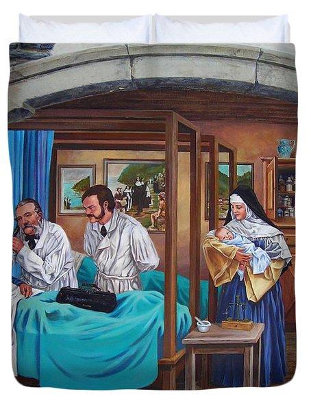 Get Well Soon ... Duvet Cover by Juergen Weiss