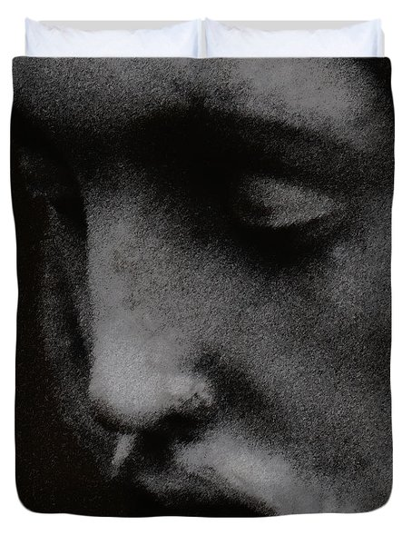 Gethsemane Duvet Cover by Linda Knorr Shafer