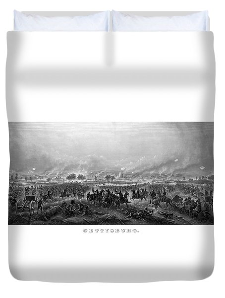 Gettysburg Duvet Cover by War Is Hell Store