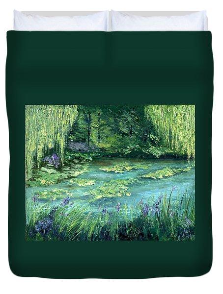 Giverny Duvet Cover by Gail Kirtz