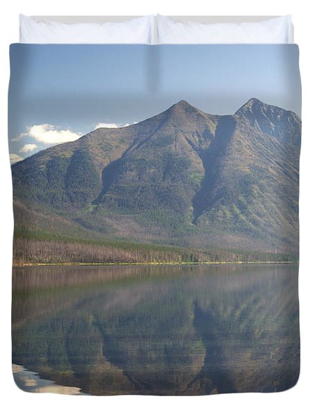 Glacier Reflection1 Duvet Cover by Marty Koch