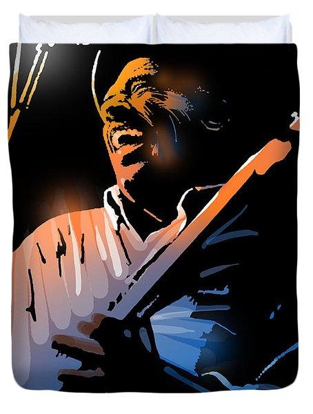 Glen Terry Duvet Cover by Paul Sachtleben