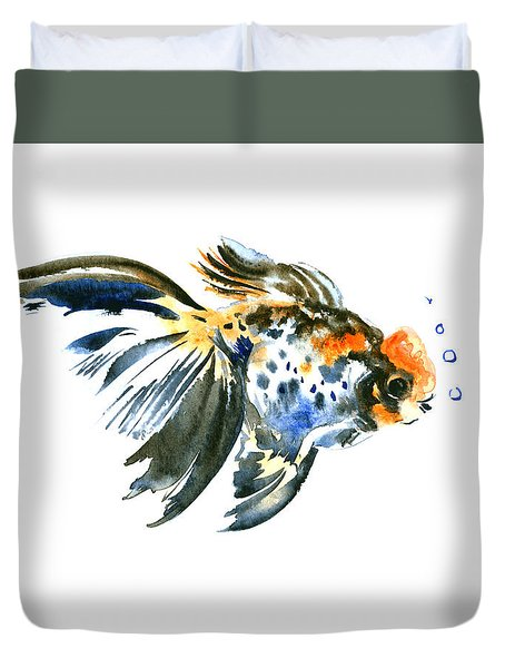 Goldfish Duvet Cover by Suren Nersisyan