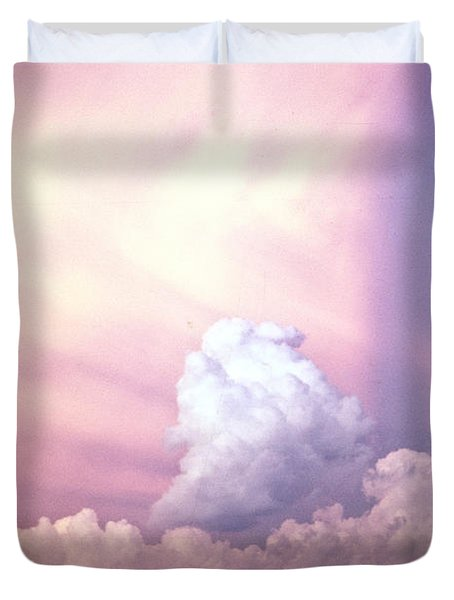 Glories of Heaven Duvet Cover by Douglas Barnett