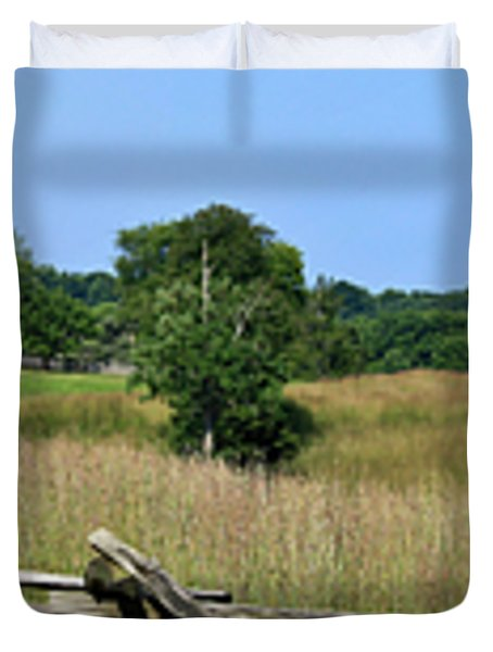 Going to Appomattox Court House Duvet Cover by Teresa Mucha